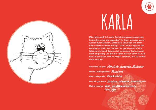 Beschreibung kinderreiseführer katze