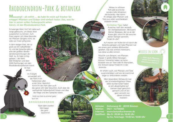 Beschreibung kinderreiseführer Rhododendron