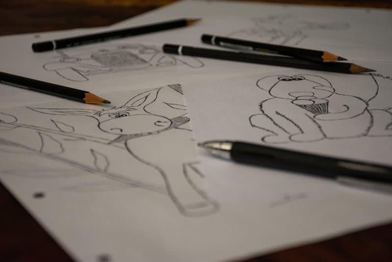 kinderbuchverlag Zeichnungen