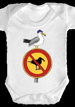 Baby Body Möwen sind hier verboten