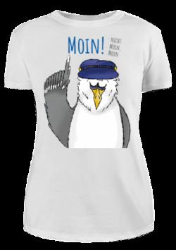 Damen T-Shirt Moin! – nicht Moin, Moin