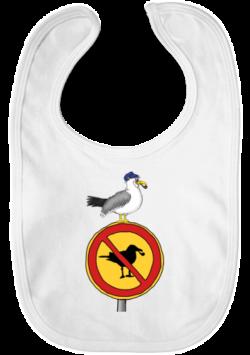 Baby Lätzchen – Möwen sind hier verboten!