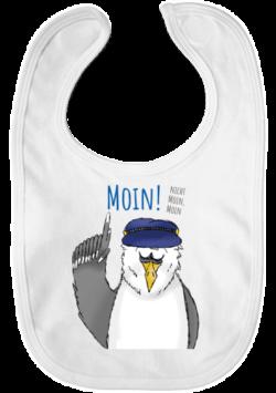 Baby Lätzchen – Moin, nicht Moin, Moin!