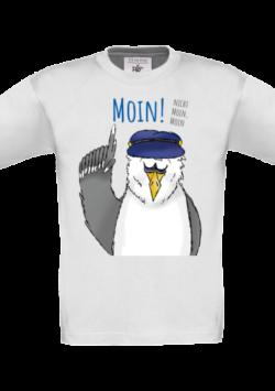 Kinder T-Shirt – Moin, nicht Moin, Moin!