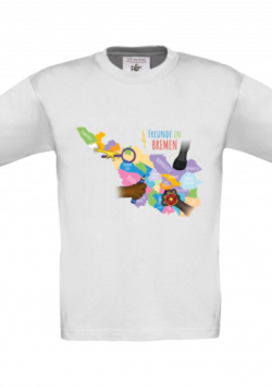 Kinder T-Shirt – Bremen Map