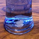 Öl, Salz, Wasser und Tinte